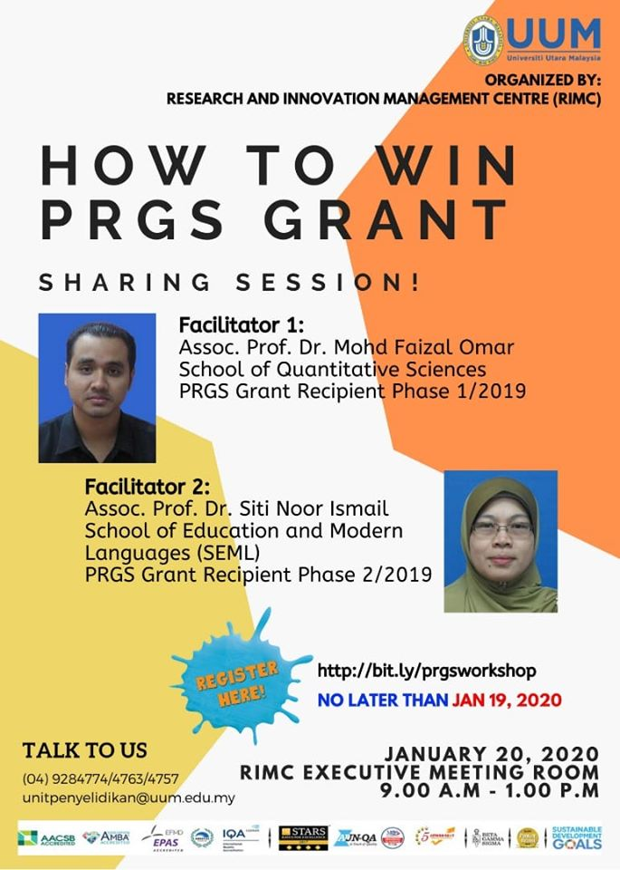 HOW TO WIN PRGS GRANT SHARING SESSION